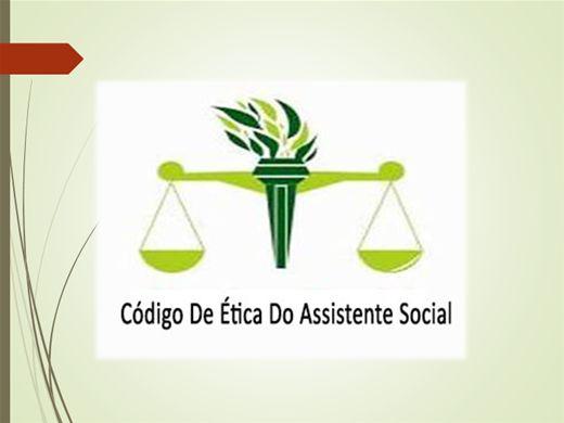 Curso Online de Código de Ética do Assisitente Social