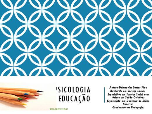Curso Online de A PSICOLOGIA DA EDUCAÇÃO