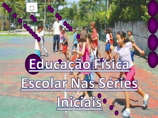Curso Online de Educação Física Escolar Nas Séries Iniciais