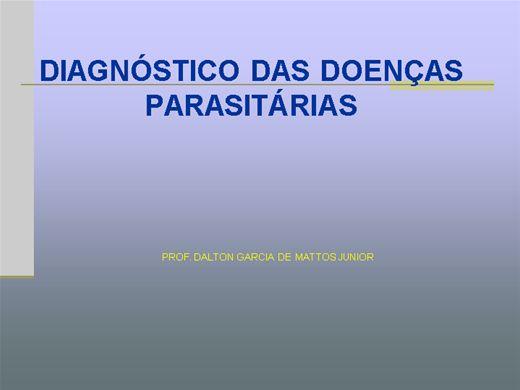 Curso Online de DIAGNÓSTICO LABORATORIAL DAS DOENÇAS PARASITÁRIAS DOS ANIMAIS