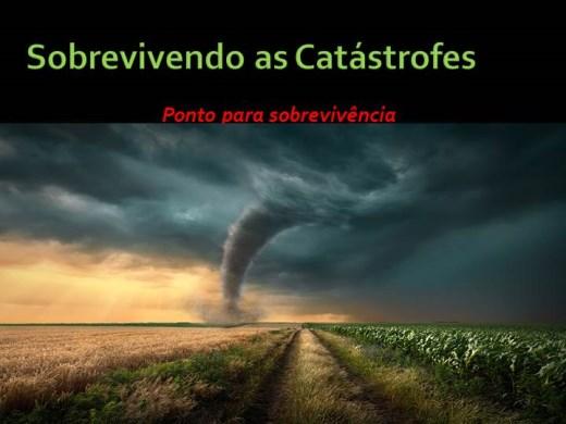 Curso Online de Sobrevivendo as Catástrofes (Ponto para sobrevivência)