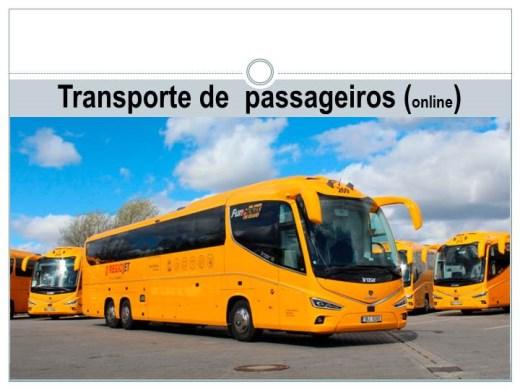 Curso Online de Transporte  de Passageiros (Online)