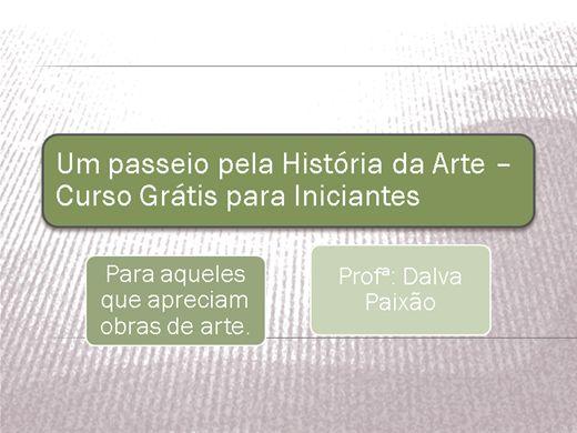 Curso Online de Um passeio pela História da Arte