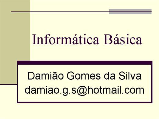 Curso Online de Curso Informática Básica