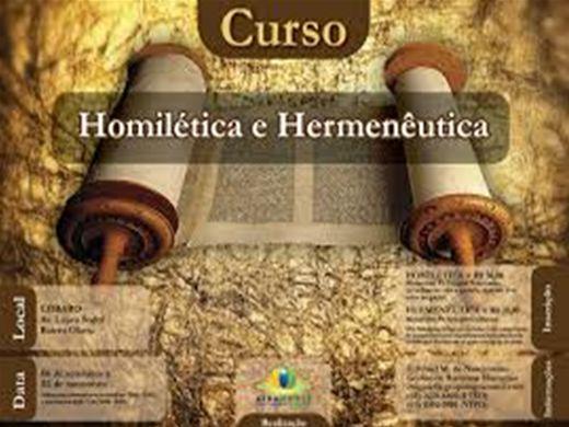 Curso Online de Homilética e Hermenêutica (Básico)