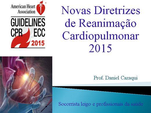 Curso Online de Novas Diretrizes de Reanimação Cardiopulmonar 2015