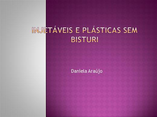 Curso Online de Injetáveis e Plásticas sem bisturi