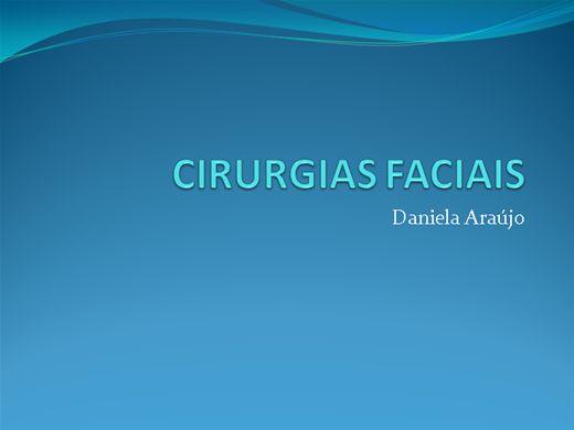 Curso Online de Cirurgias Faciais / Protocolos no  Pré e Pós
