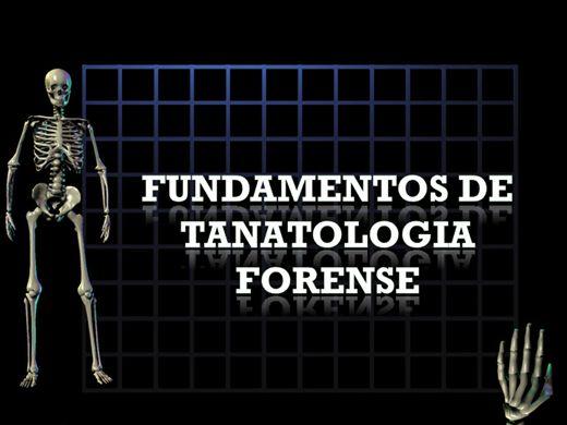 Curso Online de Fundamentos de Tanatologia Forense