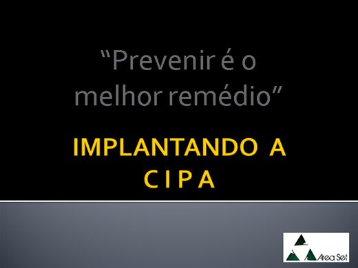 Curso Online de A CIPA nas Empresas, como implantar?
