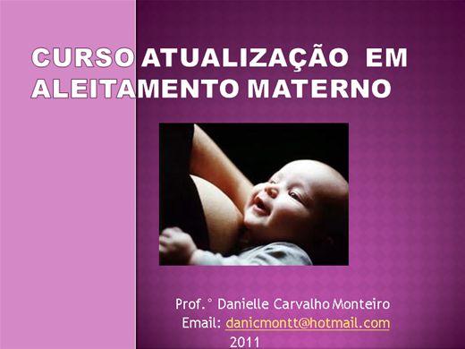 Curso Online de CURSO DE ATUALIZAÇÃO EM ALEITAMENTO MATERNO