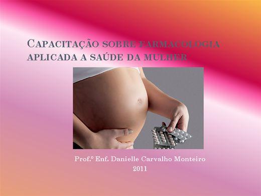 Curso Online de Capacitação sobre farmacologia aplicada a saúde da mulher
