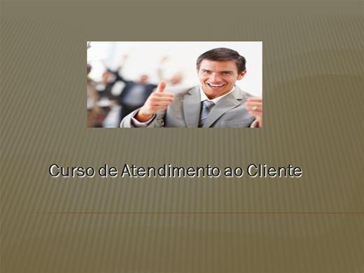 Curso Online de ATENDIMENTO AO CLIENTE