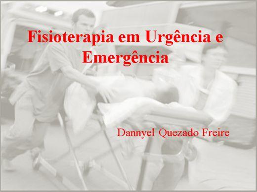 Curso Online de Fisioterapia em Urgência e Emergência
