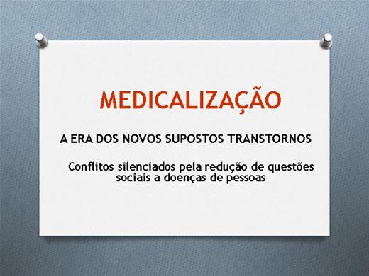 Curso Online de Medicalização