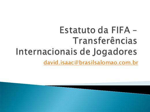 Curso Online de MECANISMO DE SOLIDARIEDADE  NA  TRANSFERÊNCIA INTERNACIONAL DE JOGADORES
