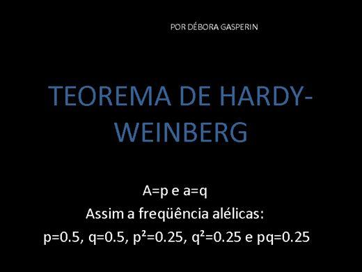 Curso Online de Teorema de Hardy-Weinberg
