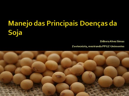 Curso Online de Manejo das Principais Doenças da Soja