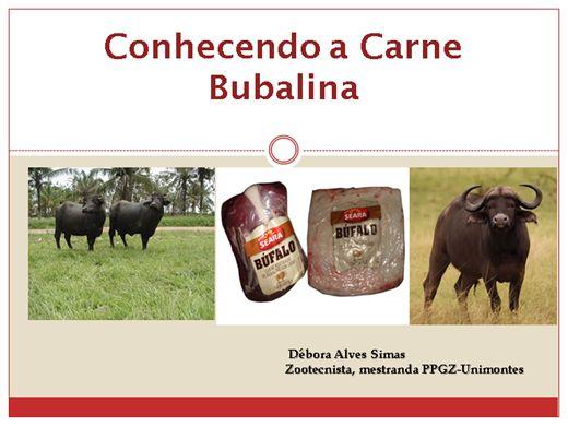 Curso Online de Conhecendo a Carne Bubalina