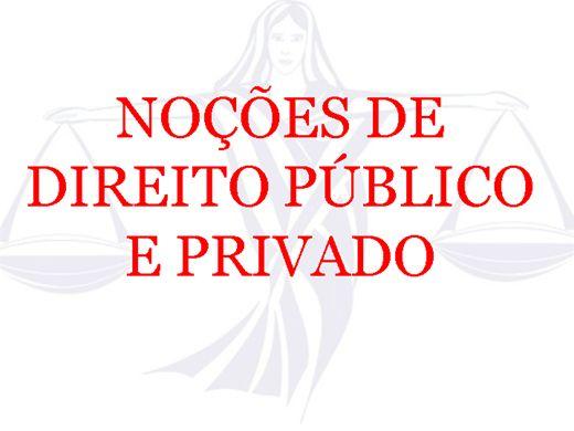 Curso Online de Noçoes de Direito Público e Privado