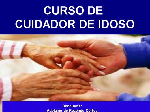 Curso Online de CUIDADOR DE IDOSO