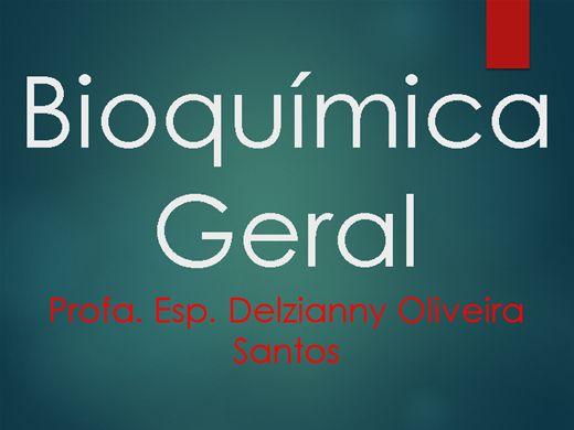 Curso Online de Bioquímica Geral