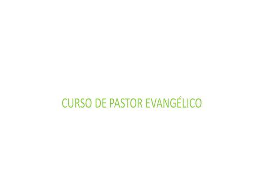 Curso Online de Pastor Evangélico