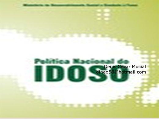 Curso Online de Política Nacional do Idoso