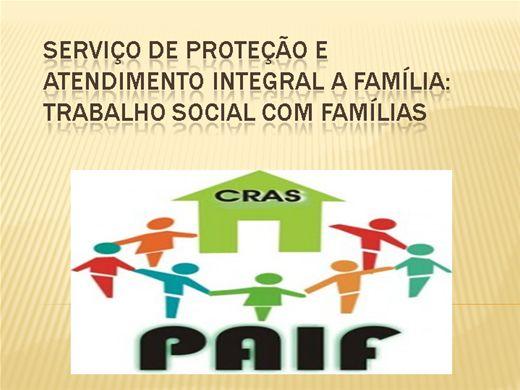 Curso Online de Serviço de Proteção e Atendimento Integral a Família: Trabalho Social com Famílias