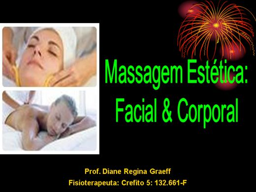 Curso Online de massagem estetica