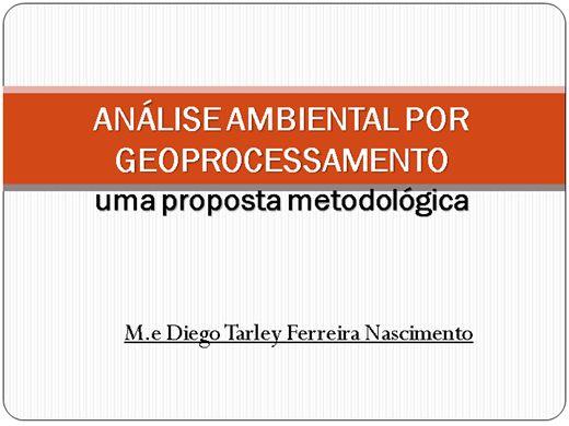 Curso Online de Análise ambiental por geoprocessamento