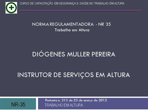 Curso Online de Curso NR35 - Serviços em Altura