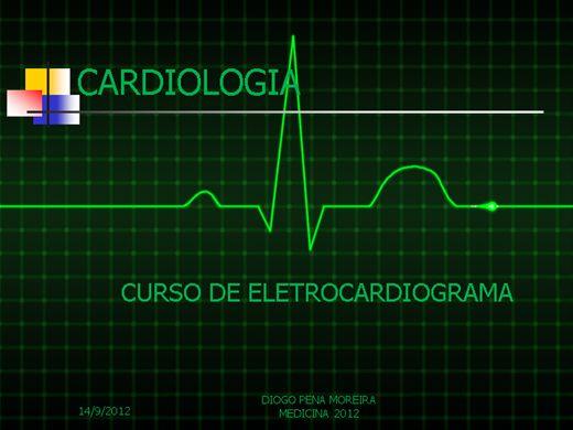 Curso Online de CURSO DE ELETROCARDIOGRAFIA