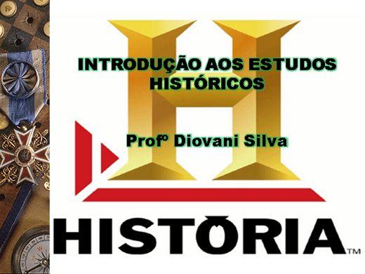 Curso Online de INTRODUÇÃO AOS ESTUDOS HISTÓRICOS