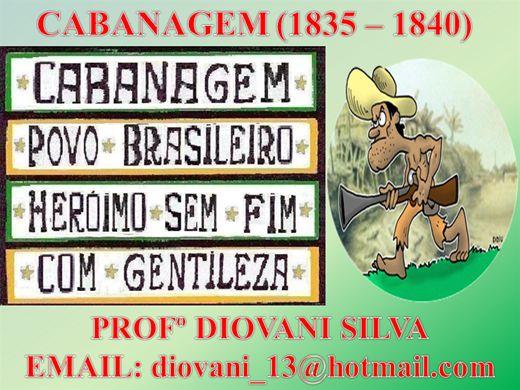 Curso Online de CABANAGEM (1835 - 1840)