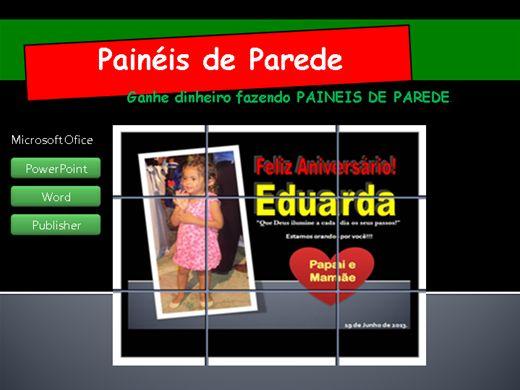 Curso Online de Curso Painéis de Parede