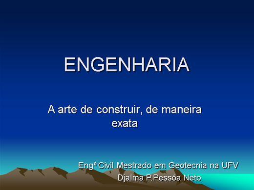 Curso Online de Engenharia é ... ..