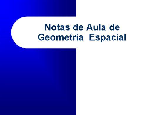 Curso Online de Matemática: Geometria Espacial: Inscrição e Circunscrição de Sólidos