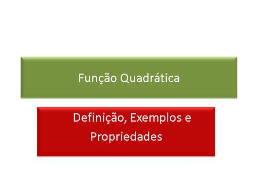 Curso Online de Matemática: Funções Quadrática, Exponencial, Logarítmica e Trigonométrica