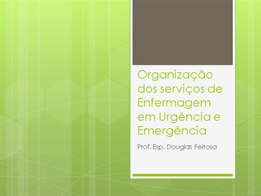 Curso Online de Orgaanização dos Serviços de Urgência e Emergência