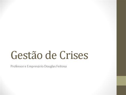 Curso Online de Gestão de Crises