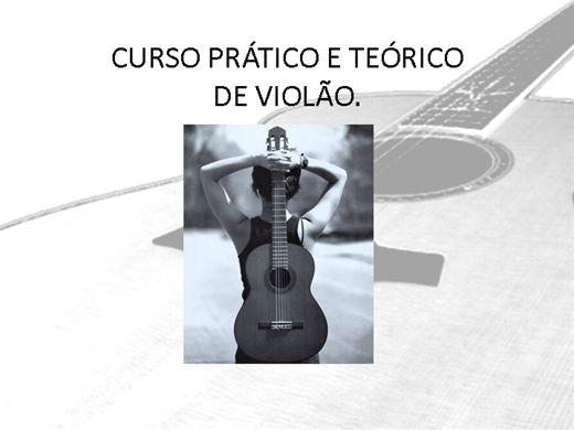 Curso Online de Violão Prático e Teórico
