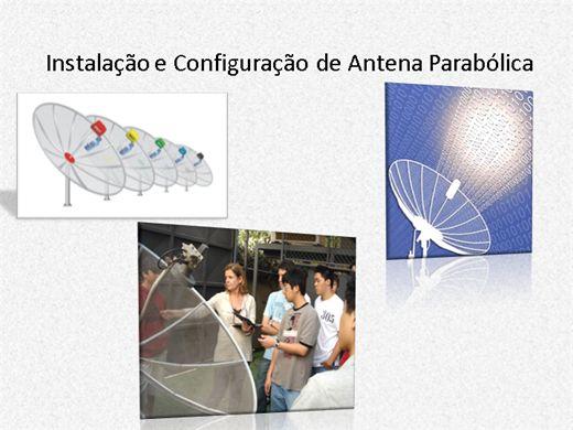 Curso Online de Instalador de Antenas Parabólicas