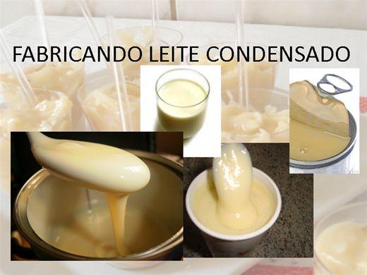 Curso Online de FABRICANDO LEITE CONDENSADO