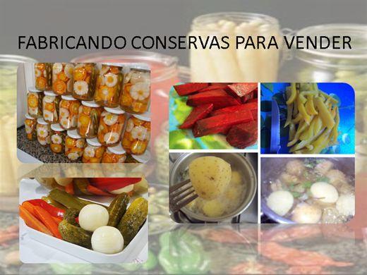 Curso Online de FABRICANDO E VENDENDO CONSERVAS