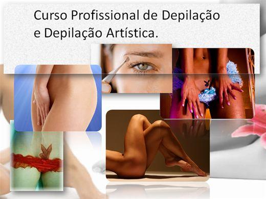 Curso Online de Profissional de  Depilação e Depilação Artistíca