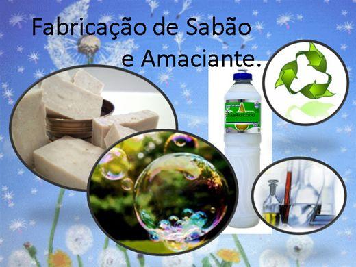 Curso Online de CURSO DE OURO FABRICANDO SABÃO E AMACIANTE.