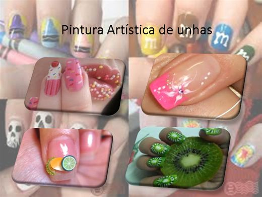Curso Online de PINTURA ARTÍSTICA DE UNHAS +200 MODELOS