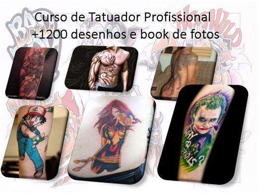 Curso Online de Profissional Tatuador