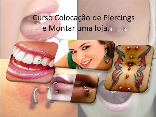 Curso Online de Aplicador de Piercing